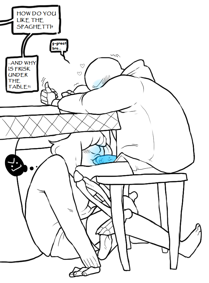 sans frisk papyrus x x Watch dog of the old lords
