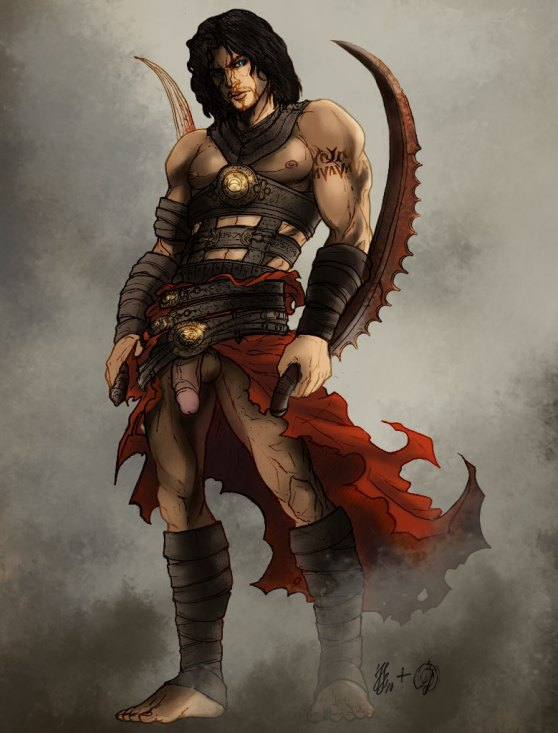 persia of prince Lord of the rings yaoi