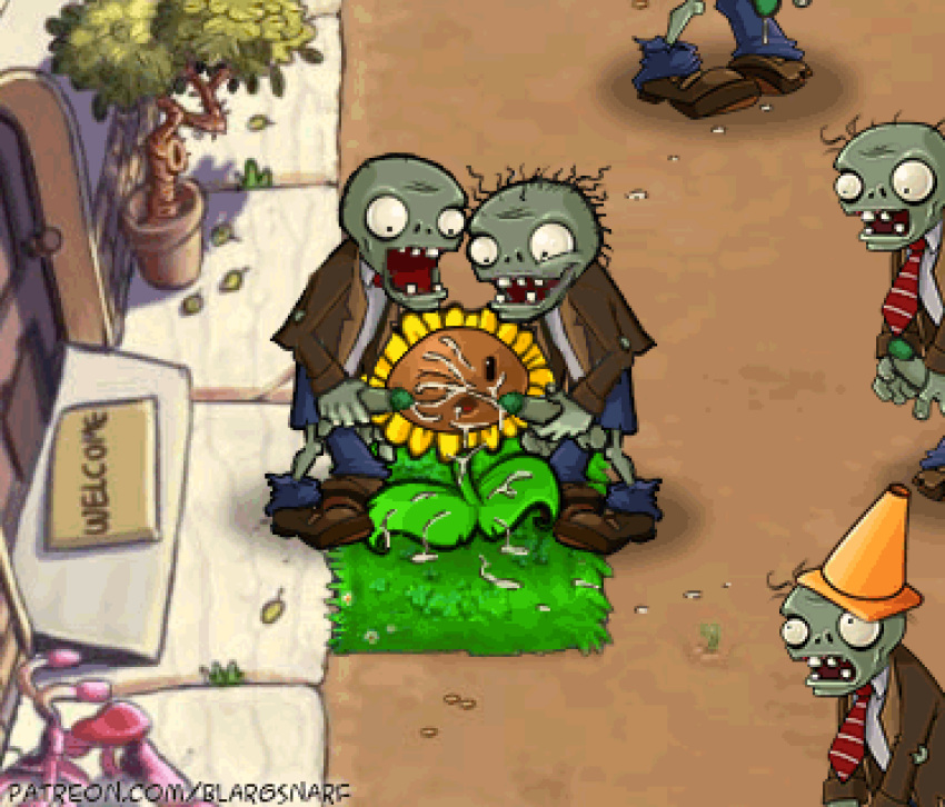 zombies plants 2 pepper vs ghost Clash of clans porn sex