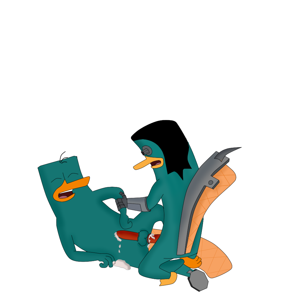 doofenshmirtz pregnant platypus dr. the perry and Girlfriends 4 ever amazing 3d animated futa