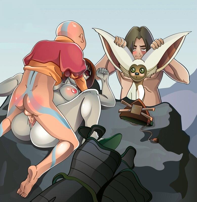 last avatar the airbender boulder the Anime girl in gym uniform